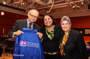 The Weffers were honored at the STARS Project brunch at the National Museum of Mexican Art.