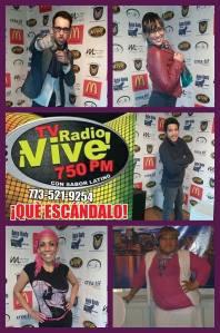 Radio Host's at Radio Vive