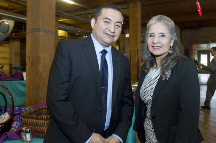 Juan Orta w my dear friend and mentor Virginia Martinez J.D.