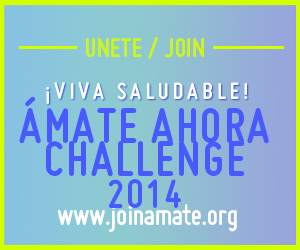 amate ahora CHALLENGE square banner