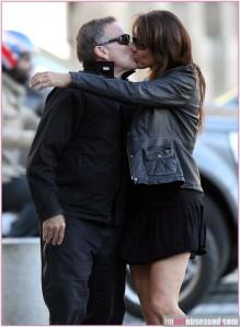 Robin Williams Romances His Wife Susan Schneider During Paris Honeymoon