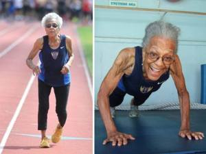 IDA KEELING 99yrs world record race