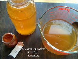Master cleanse lemonade
