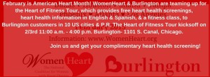WomenHeart & Burlington want to educate women nationwide about their risk for heart disease, the #1 killer of women. By knowing & managing their risk factors & their family history, women can protect their hearts. That is why WomenHeart & B