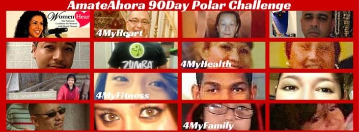 ÁmateAhora 90 Polar Challenge